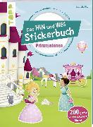 Cover-Bild zu Das Hin-und-weg-Stickerbuch Prinzessinnen von Pitz, Natascha
