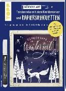 Cover-Bild zu Vorlagenmappe Fensterdeko mit dem Kreidemarker & Papiersilhouetten - Wunderbare Winterzeit von Dornemann, Miriam