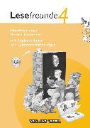 Cover-Bild zu Gerber, Sabine: Lesefreunde, Lesen - Schreiben - Spielen, Östliche Bundesländer und Berlin - Ausgabe 2010, 4. Schuljahr, Handreichungen für den Unterricht mit Hör-CD