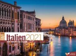 Cover-Bild zu Italien ReiseLust Kalender 2021 von Ackermann Kunstverlag (Hrsg.)