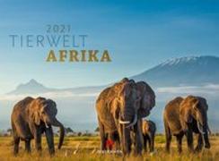 Cover-Bild zu Tierwelt Afrika Kalender 2021 von Ackermann Kunstverlag (Hrsg.)