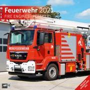 Cover-Bild zu Feuerwehr Kalender 2021 - 30x30 von Ackermann Kunstverlag (Hrsg.)