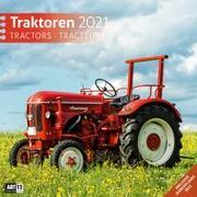 Cover-Bild zu Traktoren Kalender 2021 - 30x30 von Ackermann Kunstverlag (Hrsg.)