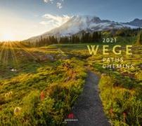 Cover-Bild zu Wege Kalender 2021 von Ackermann Kunstverlag (Hrsg.)