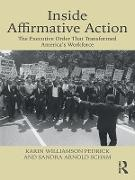 Cover-Bild zu Inside Affirmative Action (eBook) von Pedrick, Karin Williamson