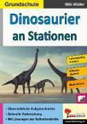 Cover-Bild zu Dinosaurier an Stationen / Grundschule