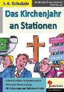 Cover-Bild zu Das Kirchenjahr an Stationen