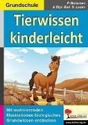 Cover-Bild zu Tierwissen kinderleicht (eBook) von Botschen, Peter