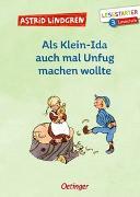 Cover-Bild zu Als Klein-Ida auch mal Unfug machen wollte von Lindgren, Astrid