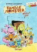 Cover-Bild zu Familie Monster brüllt los! von Bertram, Rüdiger