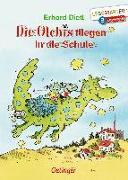Cover-Bild zu Die Olchis fliegen in die Schule von Dietl, Erhard