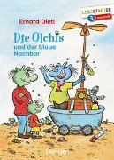 Cover-Bild zu Die Olchis und der blaue Nachbar von Dietl, Erhard