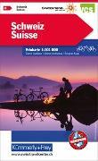 Cover-Bild zu Schweiz Velokarte. 1:301'000 von Hallwag Kümmerly+Frey AG (Hrsg.)