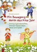 Cover-Bild zu Lambrecht, Michaela: Mit Bewegung durch das Kita-Jahr