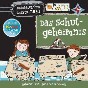 Cover-Bild zu Detektivbüro LasseMaja - Das Schulgeheimnis (Audio Download) von Widmark, Martin