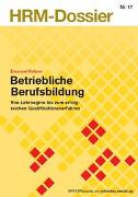 Cover-Bild zu Betriebliche Berufsbildung von Rohner, Emanuel
