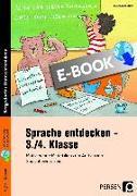Cover-Bild zu Sprache entdecken - 3./4. Klasse (eBook) von Jebautzke, Kirstin
