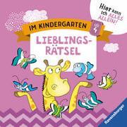 Cover-Bild zu Im Kindergarten: Lieblingsrätsel von Jebautzke, Kirstin