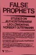 Cover-Bild zu Lowenthal, Leo: Prophets of Deceit