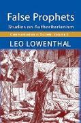 Cover-Bild zu Lowenthal, Leo: False Prophets (eBook)