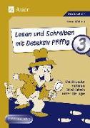 Cover-Bild zu Lesen und Schreiben mit Detektiv Pfiffig, Klasse 3 von Wehren, Bernd
