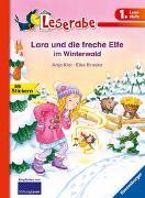 Cover-Bild zu Lara und die freche Elfe im Winterwald - Leserabe 1. Klasse - Erstlesebuch für Kinder ab 6 Jahren von Kiel, Anja