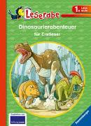 Cover-Bild zu Dinoabenteuer für Erstleser - Leserabe 1. Klasse - Erstlesebuch für Kinder ab 6 Jahren von Klein, Martin