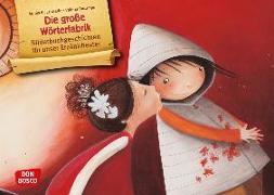Cover-Bild zu Die große Wörterfabrik. Kamishibai Bildkartenset von De Lestrade, Agnès