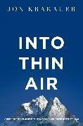 Cover-Bild zu Krakauer, Jon: Into Thin Air