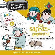 Cover-Bild zu Detektivbüro LasseMaja - Das Safrangeheimnis (Audio Download) von Widmark, Martin