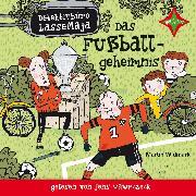 Cover-Bild zu Detektivbüro LasseMaja - Das Fußballgeheimnis (Audio Download) von Widmark, Martin