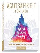 Cover-Bild zu Achtsamkeit für dich. 50 Karma-Kärtchen