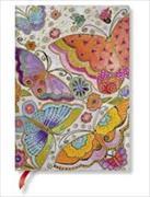 Cover-Bild zu Flexis Schmetterlinge Midi liniert