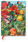 Cover-Bild zu Naturcollagen Schmetterlingsgarten Midi liniert