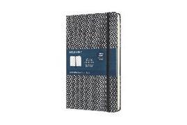 Cover-Bild zu Moleskine Notebook - Blend L/A5, Ruled, Fabric Hard Cover, Black