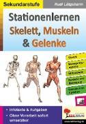 Cover-Bild zu Stationenlernen Skelette, Muskeln & Gelenke von Lütgeharm, Rudi