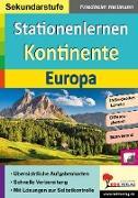 Cover-Bild zu Stationenlernen Kontinente / Europa von Heitmann, Friedhelm