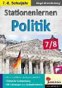 Cover-Bild zu Stationenlernen Politik / Klasse 7-8