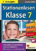 Cover-Bild zu Stationenlesen Klasse 7 von Vatter, Jochen