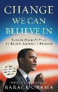 Cover-Bild zu Change We Can Believe In (eBook) von Obama for Change