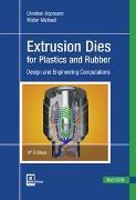 Cover-Bild zu Extrusion Dies for Plastics and Rubber von Hopmann, Christian