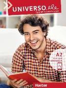 Cover-Bild zu Universo.ele A2 / Kurs- und Arbeitsbuch mit Audios online von Guerrero García, Encarnación