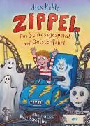 Cover-Bild zu Rühle, Alex: Zippel - Ein Schlossgespenst auf Geisterfahrt