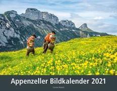 Cover-Bild zu Appenzeller Bildkalender 2021 von Wueest, Carmen
