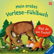 Cover-Bild zu Orso, Kathrin Lena: Mein erstes Vorlese-Fühlbuch: Bist du ein Fuchs?