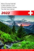 Cover-Bild zu Cal. Kleiner Schweizer Kalender 2022 Ft. 14,8x22
