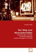 Cover-Bild zu Der Weg zum Musicaldarsteller von Juntke, Franziska