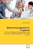 Cover-Bild zu Wissensmanagement in Projekten von Dröber, Susanne