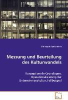 Cover-Bild zu Messung und Beurteilung des Kulturwandels von Stadelmann Christoph