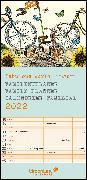 GreenLine Fabulous World of PABUKU 2022 Familienplaner - Familien-Kalender - Kinder-Kalender - 22x45 von teNeues Calendars